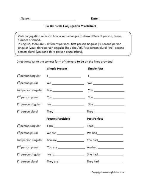 englishlinxcom verbs worksheets