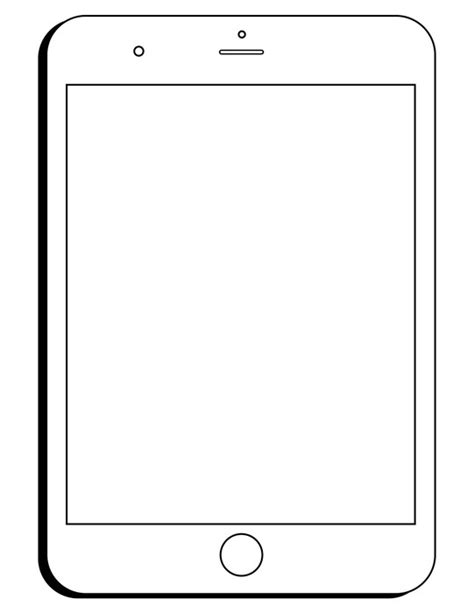 ipad coloring pages   clip art carwadnet