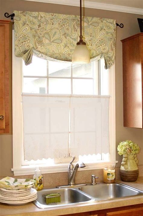 pc  coffee floral polka dot polyester window curtain
