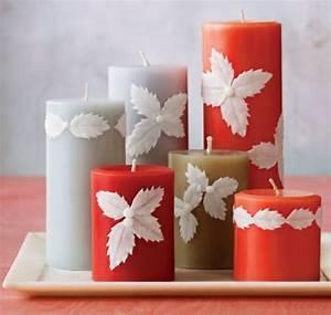 Kerzen Verzieren Weihnachten : kerzen f r weihnachten 28 weihnachtsdeko bastel ideen ~ Eleganceandgraceweddings.com Haus und Dekorationen