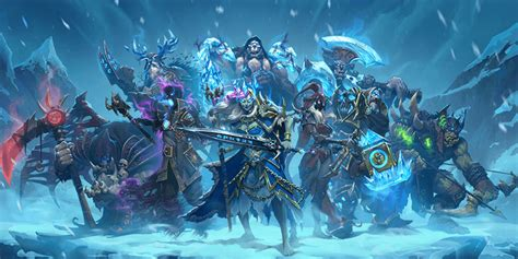 Priest Decks Knights Of The Frozen Throne by Glacial Mysteries Hs Mage Card Hs Decks And Guides