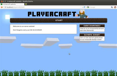 Playercraft  Minecraft Web Cms  Server Website In. Child Life Graduate Programs. Resignation Letter Template Free. Personal Letter Template Word. Oakland University Graduate Programs. Mothers Day Ads. Word Business Card Template. 16 Page Booklet Template. Maintenance Log Book Template