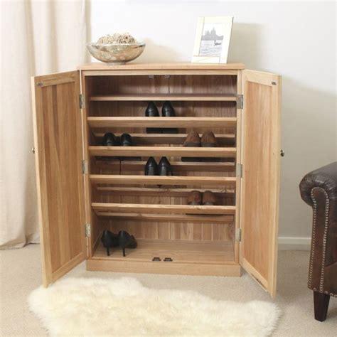 Oak Shoe Cupboards by Solid Wood Shoe Cabinets Home Improvement Shoe