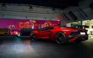 Lamborghini Aventador Superveloce 2 Wallpaper HD Car