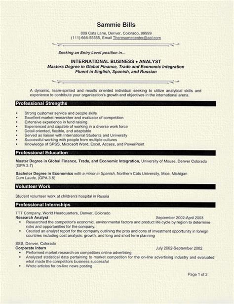Detail Oriented Resume Statement by Detail Oriented Resume Exle