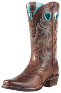 Ariat Rawhide Square Toe Cowgirl Boots