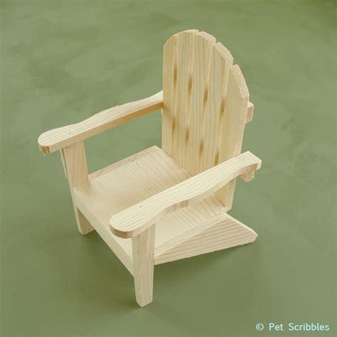 paint your own mini adirondack chair deja vue designs