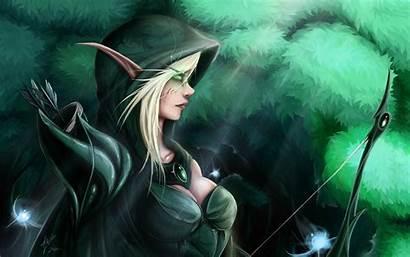 Elf Elves Fantasy Wow Archer Hood Games