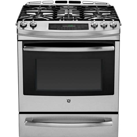 ge profile gas cooktop ge profile 5 9 cu ft dual fuel range with self cleaning