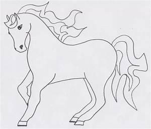 Horse Pictures for Kids Black and White to Color Funny Hd ...