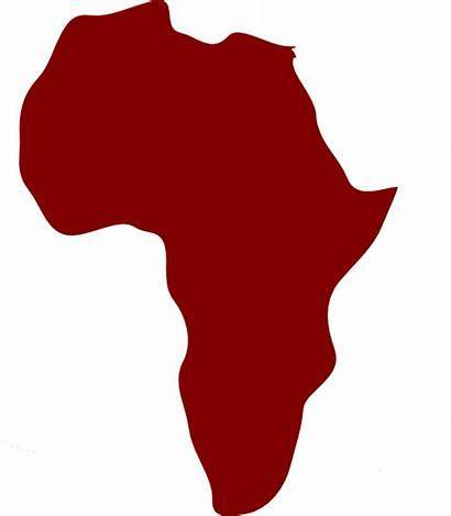 Africa Clip Clipart African Outline Cliparts North