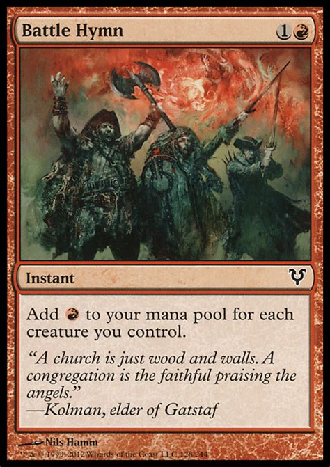 Mtg Pyromancer Deck Modern by Proxies For Deck Quot Monored Token Quot Deckstats Net