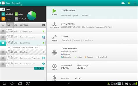 mobile app for android field service app for android