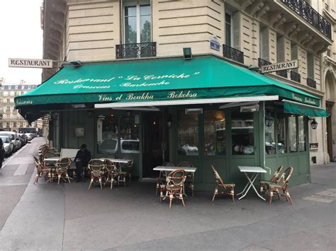 Corniche Restaurant by La Corniche Restaurant 77 Boulevard Courcelles 75008