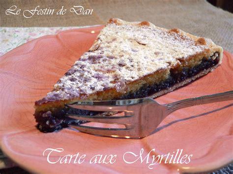 le festin de dan tarte aux myrtilles