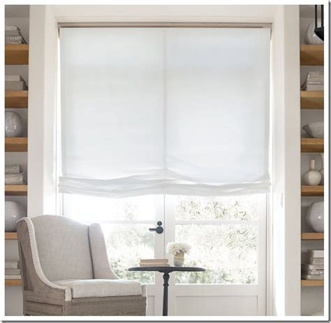 Window Treatment Hardware by No Sew Window Treatment Relaxed Shades In My Own