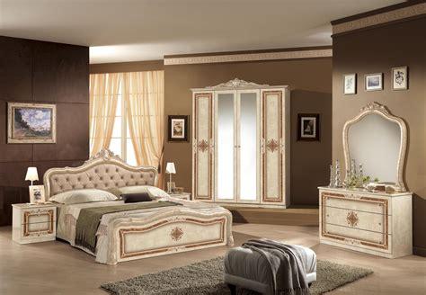 Schlafzimmer Lucy Walnuss 180x200cm Kleiderschrank 4trg