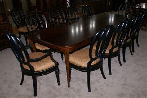 modern bassett cherry dining room table  set