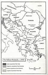 Peninsula Coloring Balkan Template sketch template
