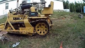 Track Off On Drive Wheel John Deere 440 Crawler Dozer How