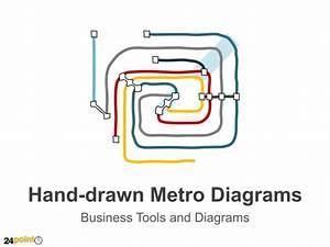 Hand-drawn Metro Diagrams
