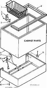 Kenmore Coldspot Freezer Parts