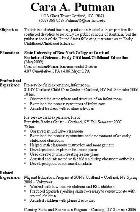 View My Resume On by Resume