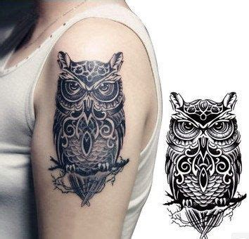 owl tattoos  arm