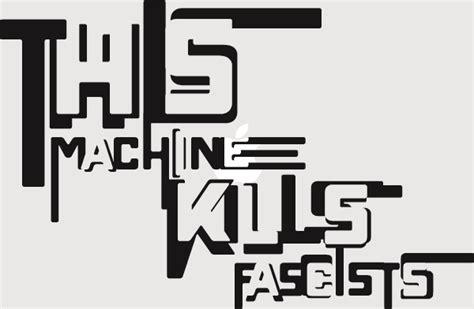 this machine kills fascists decal karen kavett