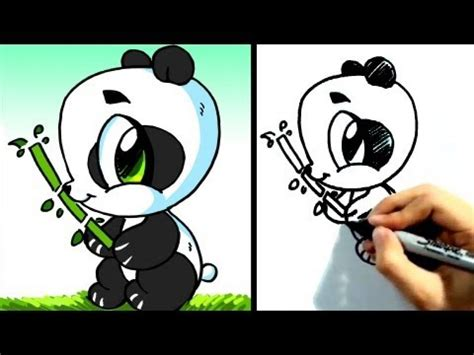 draw cute cartoon baby animals pictures drawing