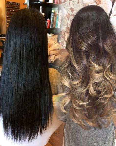 Black Hair To Before And After Pictures by Hair Transformation Before And After Jetblack Hair