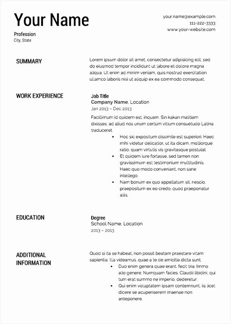 cv templates computer science  samples examples