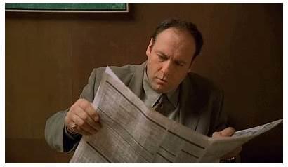 Soprano Tony Sopranos Gifs Italian Mafia Government