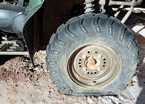 atv tech  art  flat tire avoidance atvconnectioncom
