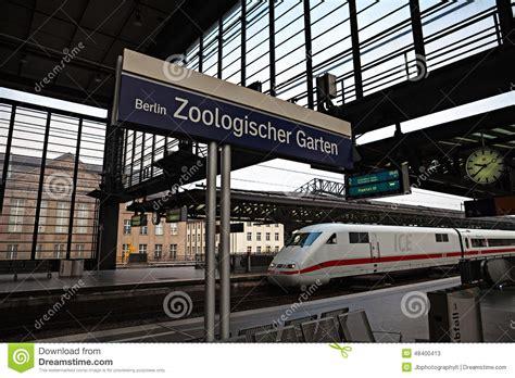 Berlin Train Station Editorial Stock Photo  Image 48400413