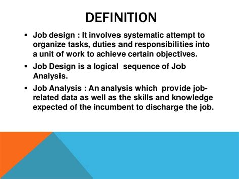 Design Definition by Design