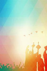 Graduation, Party, Poster, Background, Material