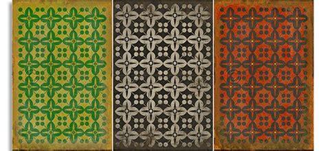 vintage vinyl flooring patterns affairs vintage vinyl floor floorcloths 6878