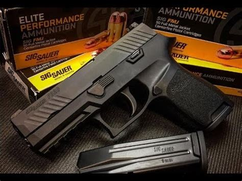 sig p compact mm pistol review youtube