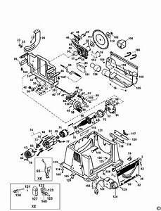 Dewalt Dw744 Type 2 Table Saw Spare Parts