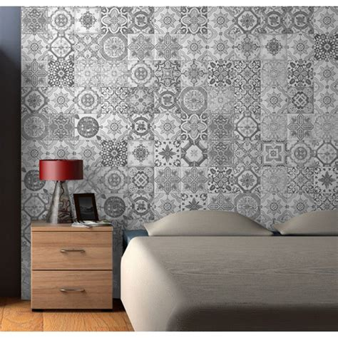 nikea matt grey porcelain wall floor tiles patterned