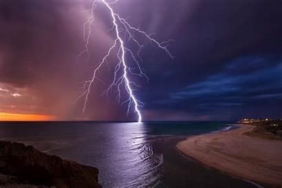 Lightning Night Australia Sky Wallpapers 1080p Background