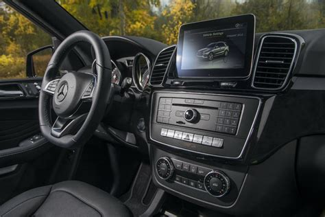It's obvious at first glance. 2017 Mercedes-AMG GLE43 Coupe SUV front interior driver ...