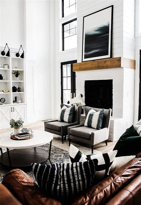 Modern Rustic Living Room Pictures by Modern And Minimalist Rustic Living Room Decor