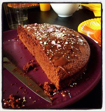 cuisines enfants gâteau d anniversaire au chocolat de lucile les