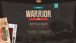 A Buffalo Meat Protein Bar  Stack Reviews The Tanka Onnit Warrior Bar