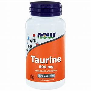 Buy Now Foods  Taurine 500 Mg  100 Capsules