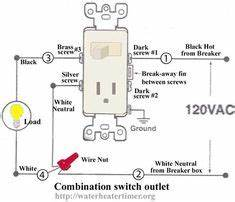 how to wire switches combination switch outlet light With light switch together with diy projects electrical plugs also rewiring
