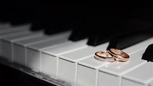 piano and wedding rings stock footage video 3650318 With piano wedding ring