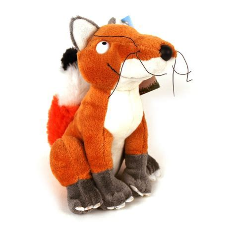 Gruffalo Fox 5 Inch Soft Toy   Pink Cat Shop